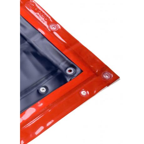 Cortina para soldadura con ojales en los cuatro lados - EN 25980