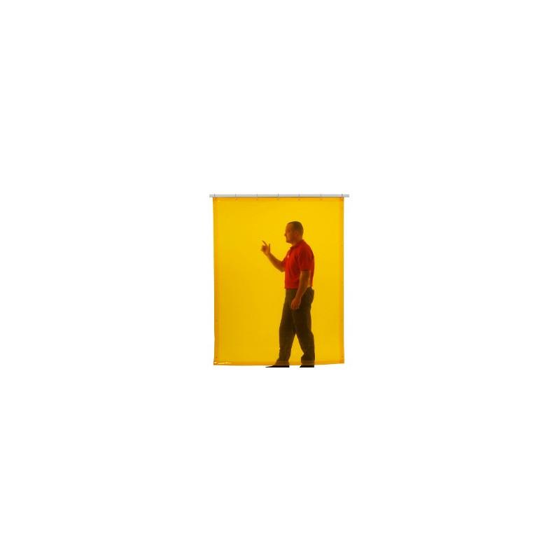 Cortina soldadura color amarilla - EN 1598 & ISO EN 25980