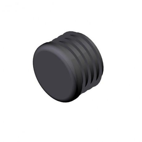 Tapón negro para tubo Diámetro 33,7 mm Cepro Sistema de Tub