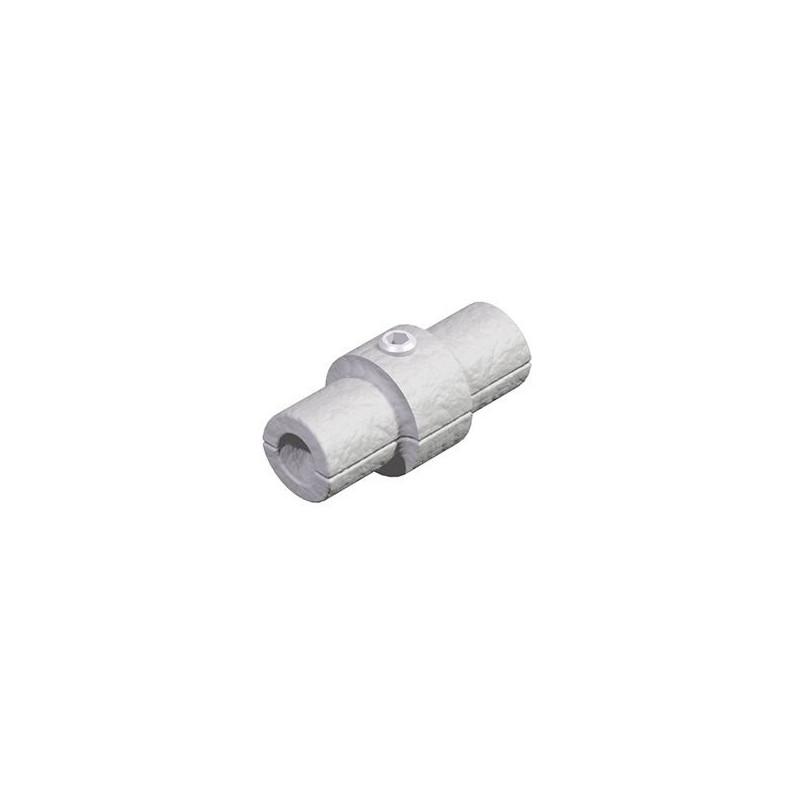 Pieza unión para tubo de 33,7mm de Diámetro Cepro Sistema de Tubos