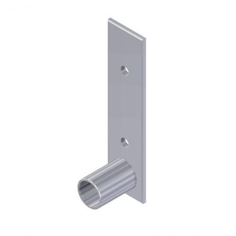 Soporte pared para tubo redondo Diámetro 33,7mm Cepro Sistema de Tubos