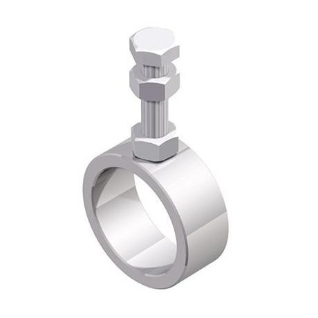 Soporte con agujero a tubo Diámetro 33,7 mm Cepro Sistema de Tubos