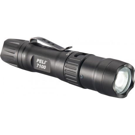 Linterna tactica LED recargable (USB) 7100
