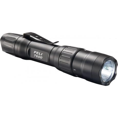 Linterna tactica LED recargable (USB) 7600