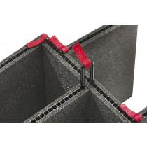 Kit Trekpak Divisor Negro 1605TP (Sin accesorios)