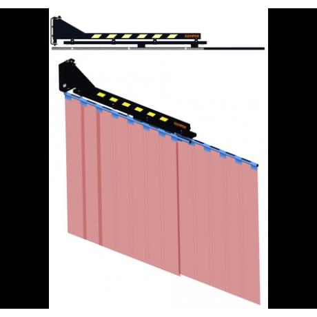Brazo basculante con sistema de bloqueo para cortinas láminas 1315570