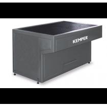 Mesa sólida para soldadura manual con cajón de residuos 950490047