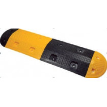 Reductores de velocidad para exterior e interior Resalto central negro