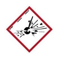 ADH Producto Quimico Explosivo 150X150MM