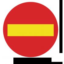 Señales Viales PVC Prohibido