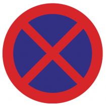 Señales Viales PVC Parada Y Estacionamiento Prohibido
