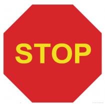 Señales Viales PVC Stop