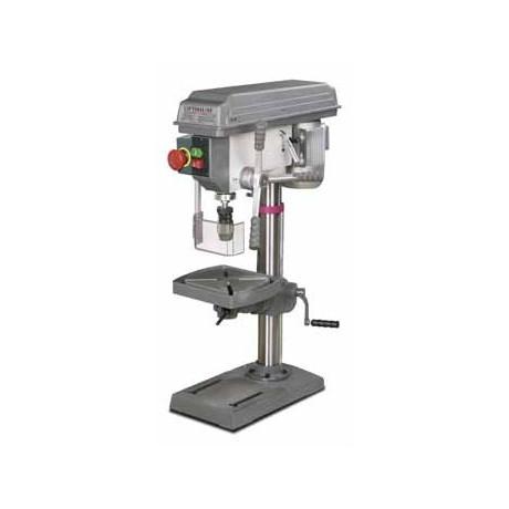 Taladro de columna, precisión garantizada (0,02mm husillo) 400V B23Pro