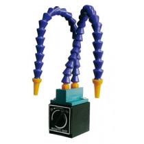 Tubo flexible con base magnética