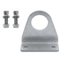Punto de anclaje 1 usuario con tornillería para estructuras de acero - EN 795 (ref. AT153)