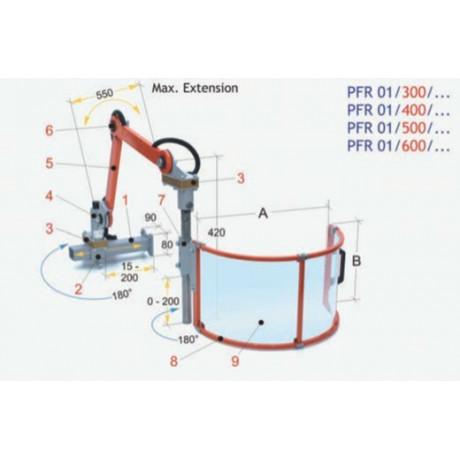 Regulable para fresadora universal