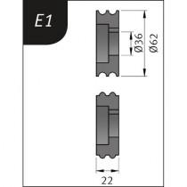 Rodilos para SBM 140-12