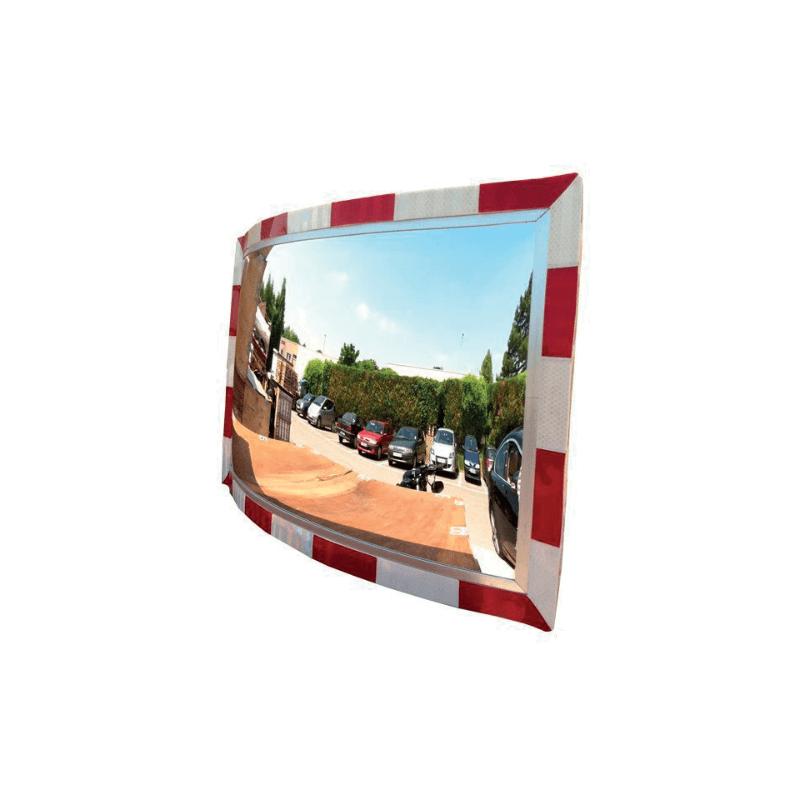 Para la vigilancia de su aparcamiento y tienda aplicaci n for Espejo rectangular grande