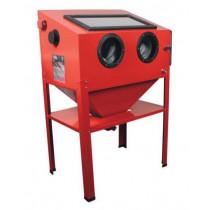 Cabina chorreadora de arena CAT410
