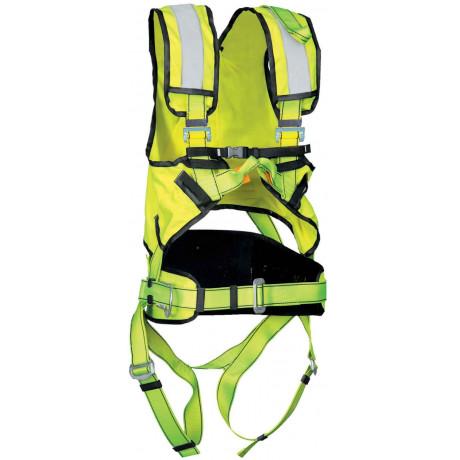 Arnés anticaídas Cinturón Alta Visibilidad P50HV+ - EN361 & EN358