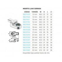 Inserto llave cerrada/estrella (inserción 14x18mm) 690813