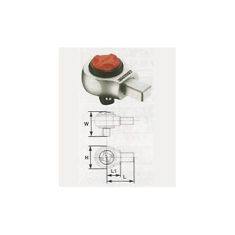 Cabeza de carraca (inserción 14x18mm) 1292CQ200R