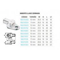 Inserto llave cerrada/estrella (inserción 9x12 mm) 690710