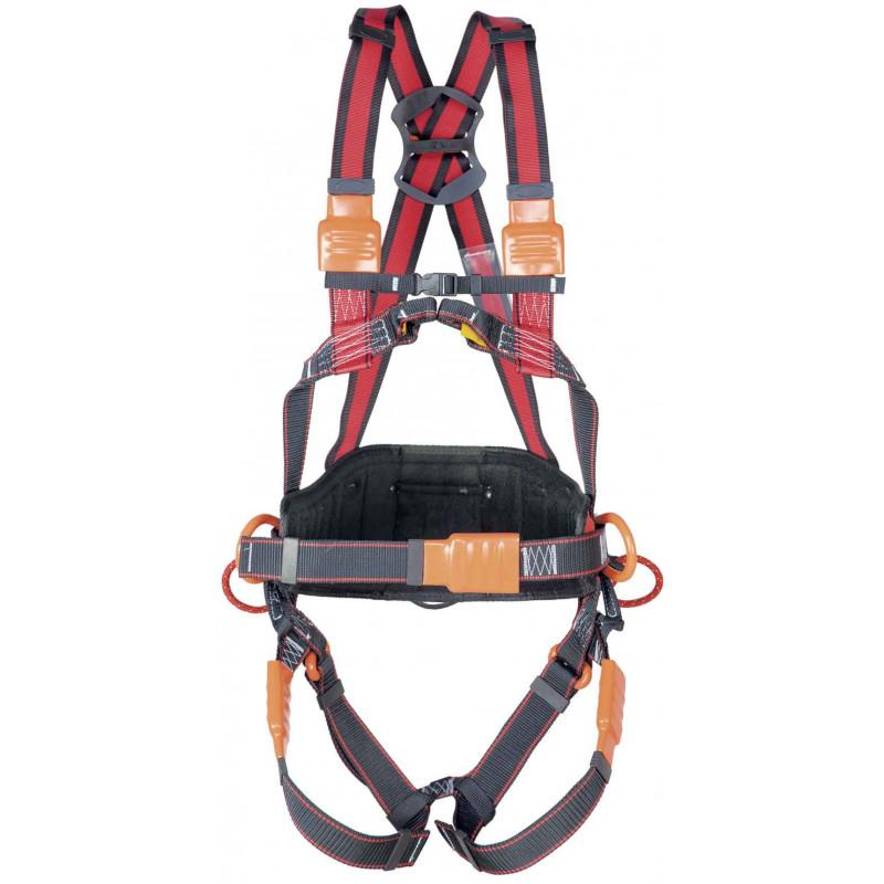 IS P51E ISOL Arnés anticaídas elástico cinturón- EN361 EN358