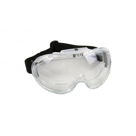 ccb9c9fd485 Gafas Seguridad Visión Panorámica, transparentes con ajuste elástico.
