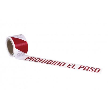 """Cinta Balizamiento """"PROHIBIDO EL PASO"""""""