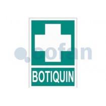 Señal de evacuación pictorama y texto - Botiquín