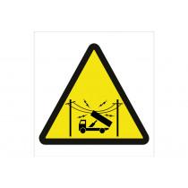 Señal advertencia solo pictorama - Peligro Cables eléctricos