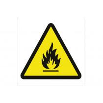 Señal advertencia solo pictorama - Peligro de incendios