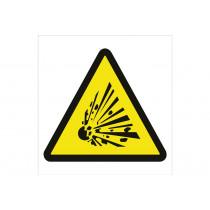 Señal advertencia solo pictorama - Peligro proyecciones