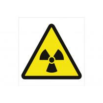 Señal advertencia solo pictorama - Peligro radiaciones