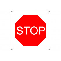 "Señal para obra OB06 ""STOP"""