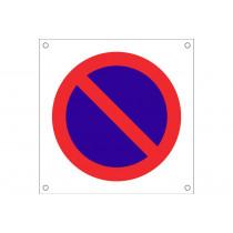 """Señal para obra OB13 """"Prohibido aparcar"""""""