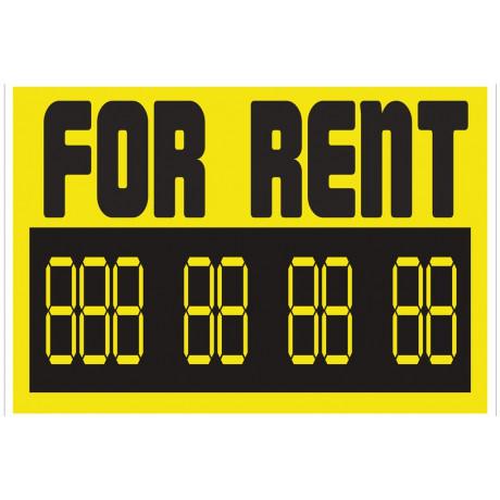 "AC7 Señal ""For Rent"""