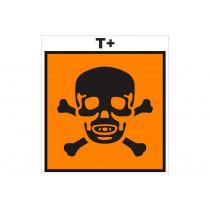 Señalización Adhesivos Residuos Tóxicos - Pdto Tóxico - Fitosanitarios
