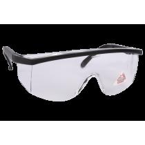 Gafas Seguridad Mod. Estándar, blancas transparentes. UNE-EN 166F.