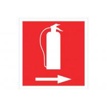 Señal de socorro solo pictorama - Extintor Derecha