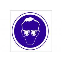 Señal obligación solo pictorama - Obligatorio Uso de gafas 9692fb7fb23