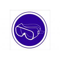 Señal obligación solo pictorama - Obligatorio uso gafas