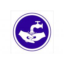 Señal obligación solo pictorama - Obligatorio lavarse las manos