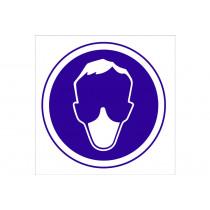 Señal obligación solo pictorama - Obligatorio uso de mascarilla