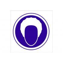 Señal obligación solo pictorama - Obligatorio proteccion del pelo