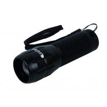 Linterna Aluminio LED ZOOM 3.7 x 12cm