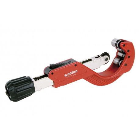 Cortatubos 4 rodillos para tubos de plástico 6-67mm 09514376