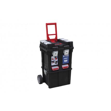 """Caja Herramientas """"Compact"""" con ruedas 09400209"""