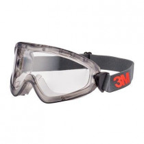 3M 2891S-SGAF Gafas estancas PC-incolora con Scotchgard